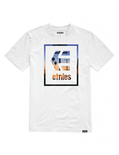 Etnies Bloodline Icon Short Sleeve T-Shirt in White
