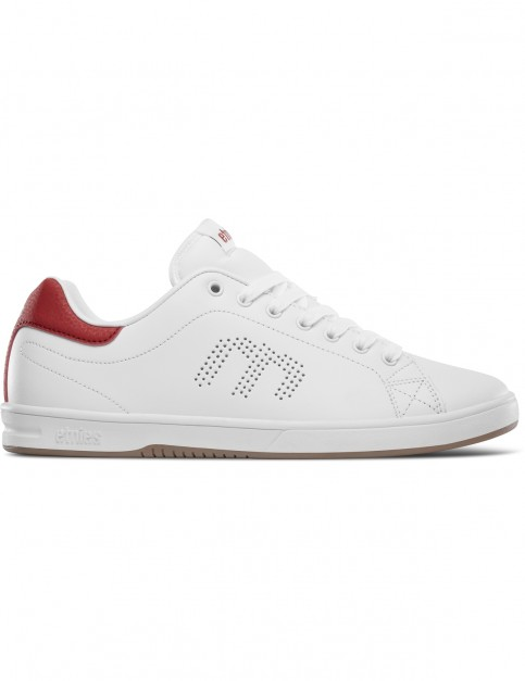 Etnies Callicut LS Trainers in White/Red