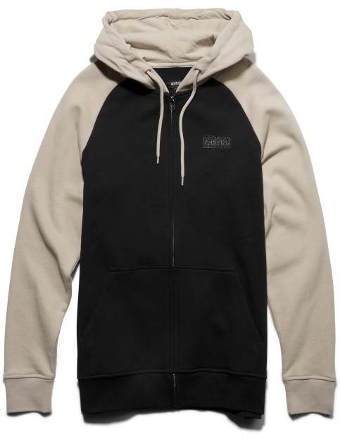Etnies Core Icon Zipped Hoody in Natural