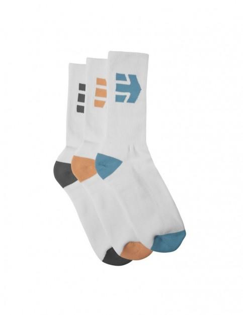 Etnies Direct Sock Crew Socks in White