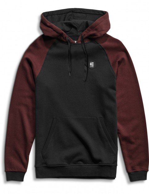Etnies E-Base Pullover Hoodie in Black/Red