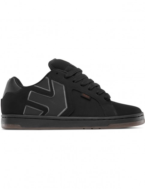 Etnies Fader 2 Trainers in Black / Black / Gum
