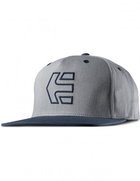 Blue/Heather Etnies Icon 7 Snapback Cap