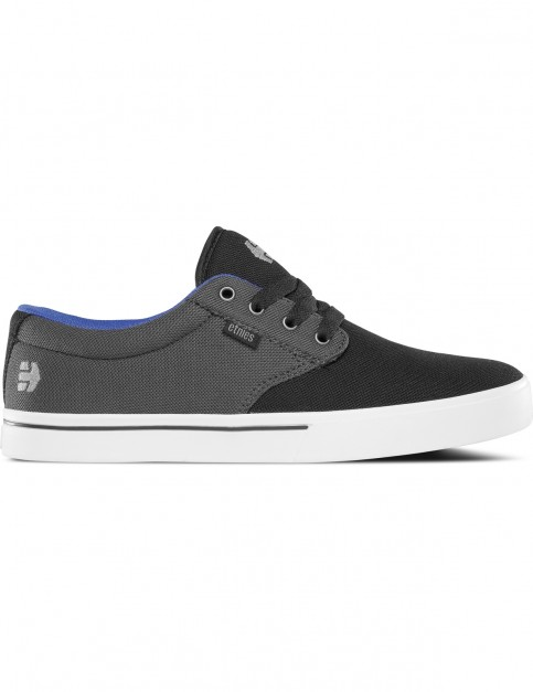 Etnies Jameson 2 Eco Trainers in Black / Dark Grey / Royal