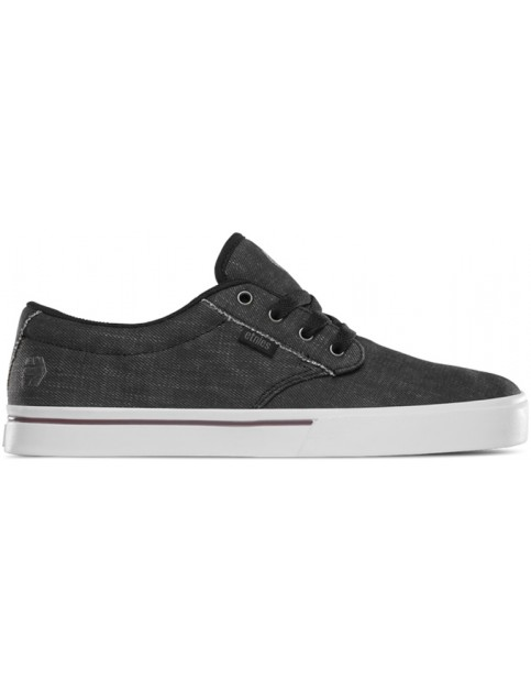 Etnies Jameson 2 Eco Trainers in Black Dirty Wash