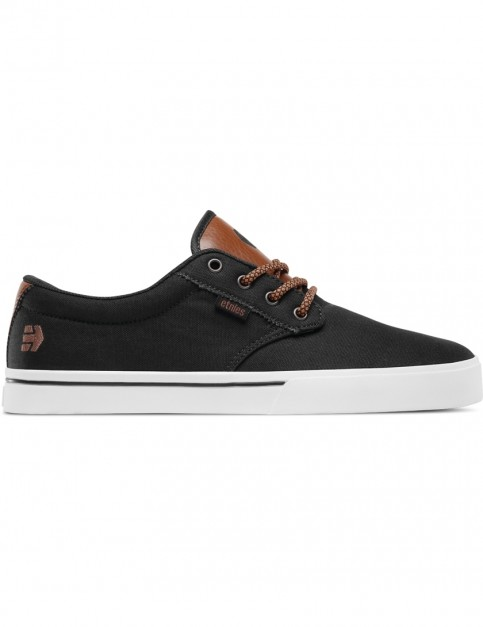 Etnies Jameson 2 Eco Trainers in Black Raw