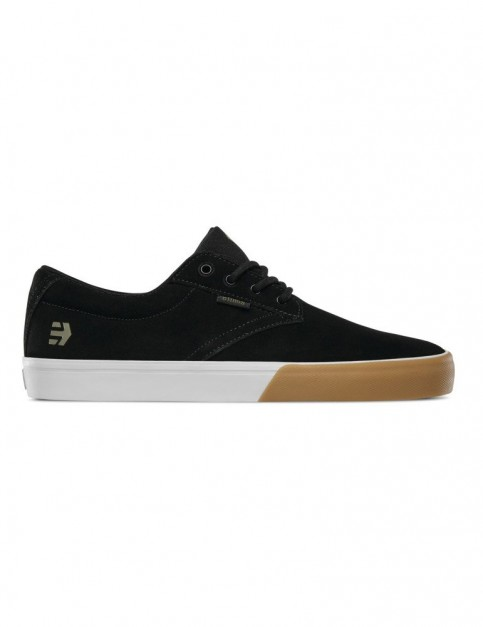 Etnies Jameson Vulc Trainers in Black/Gum/White