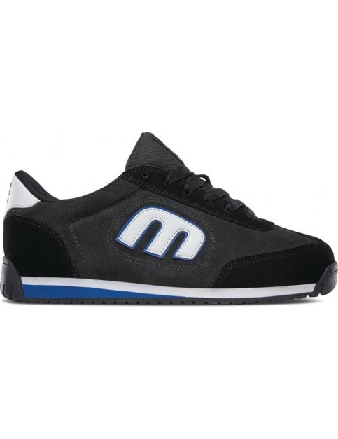 Etnies Lo-Cut Ii Ls Trainers in Black/Charcoal/Blue