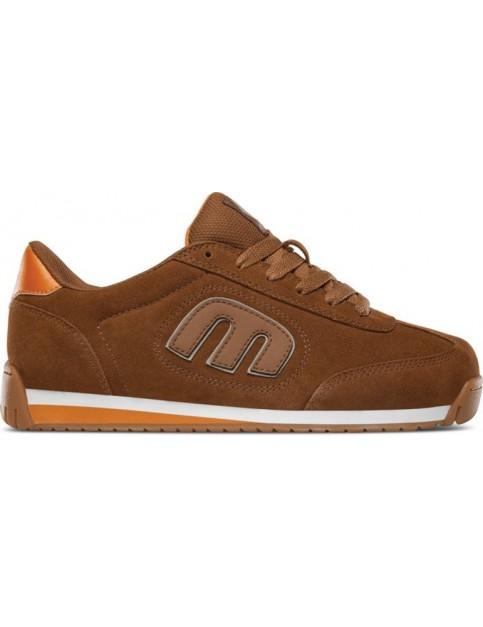 Etnies Lo-Cut Ii Ls Trainers in Brown/Orange