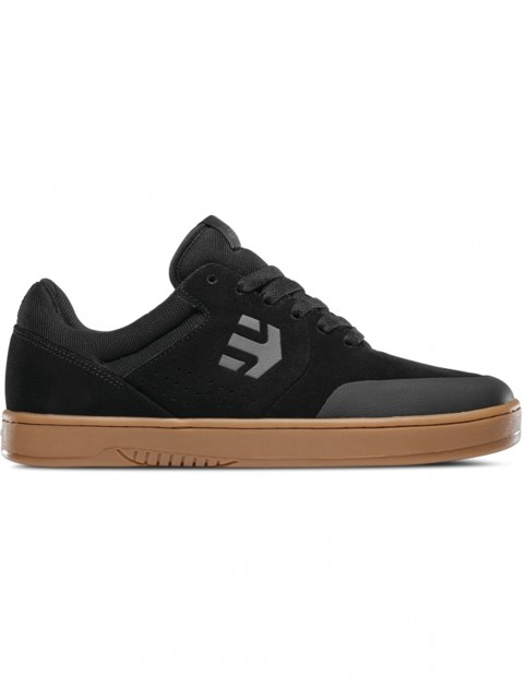 Etnies Marana Trainers in Black/Dark Grey/Gum