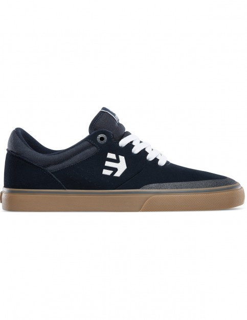 Etnies Marana Vulc Trainers in Navy/White/Gum