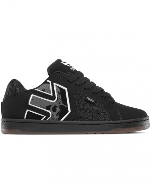 Etnies Metal Mulisha Fader 2 Trainers in Black/Grey/White