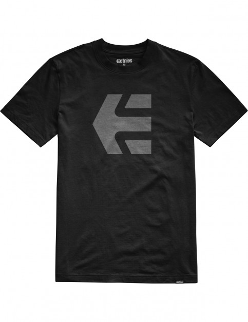 Etnies Mod Icon Short Sleeve T-Shirt in Black