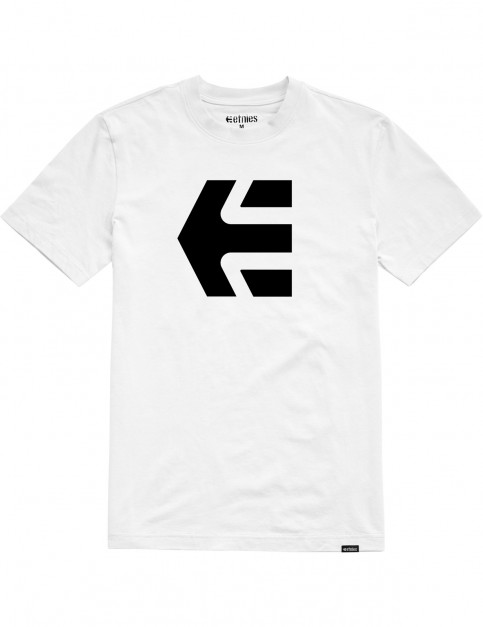 Etnies Mod Icon Short Sleeve T-Shirt in White