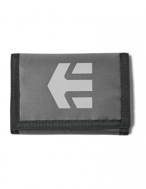 Etnies Ripper Wallet Polyester Wallet in Charcoal