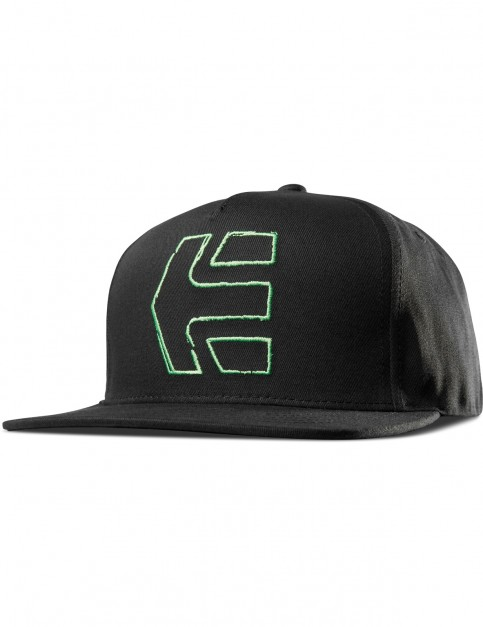 Etnies Sketch Icon Snap Cap in Black