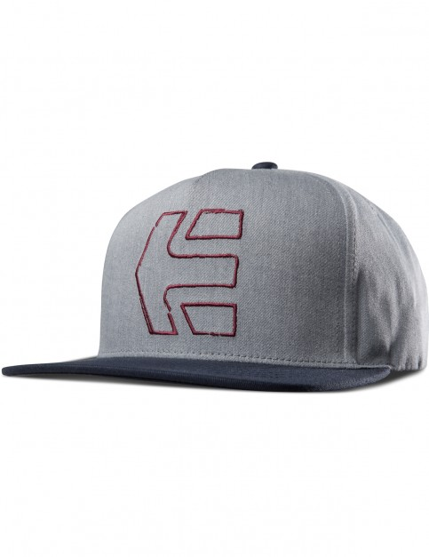 Etnies Sketch Icon Snap Cap in Grey/Blue