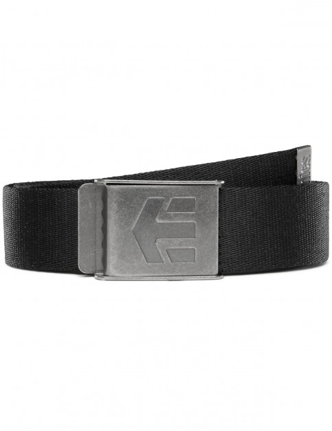 Etnies Staplez Belt in Black/Grey