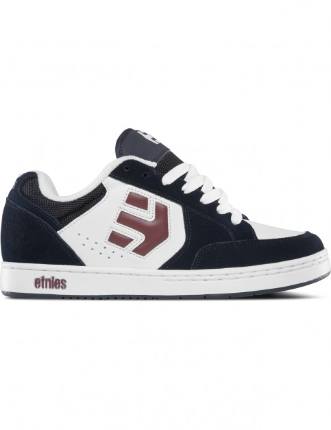 Etnies Swivel Trainers in Navy / White / Red