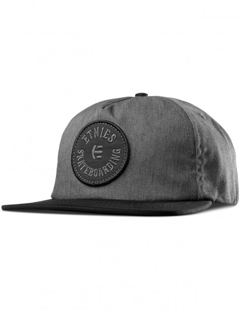 Etnies Tour Cap in Black/Grey