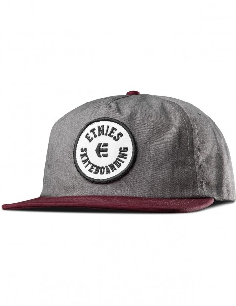 Etnies Tour Cap in Burgundy