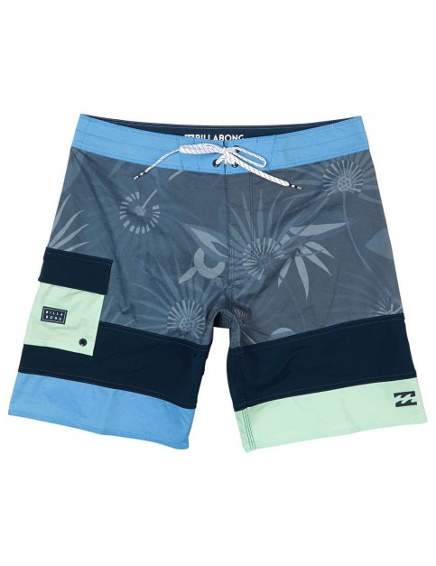 Billabong Pump Mid Length Boardshorts in Blue