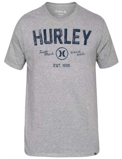 Dark Grey Heather Hurley Battle Cat Short Sleeve T-Shirt