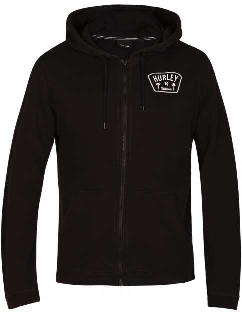 Hurley Beach Club Destroy 17Th St Full Zip Fleece in Black