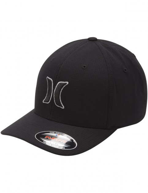 Hurley Black Suits Cap in Cool Grey