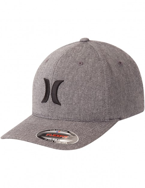 Hurley Black Suits Outline Cap in Dark Grey