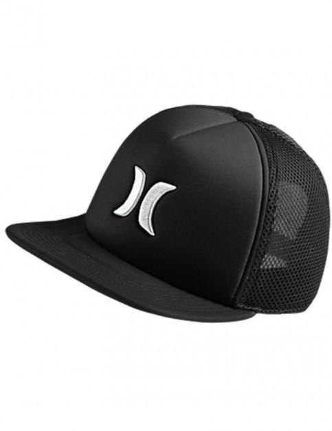 Black Hurley Blocked 2.0 Cap