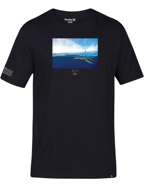 Hurley Clark Week Short Sleeve T-Shirt in Black