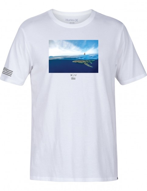 Hurley Clark Week Short Sleeve T-Shirt in White