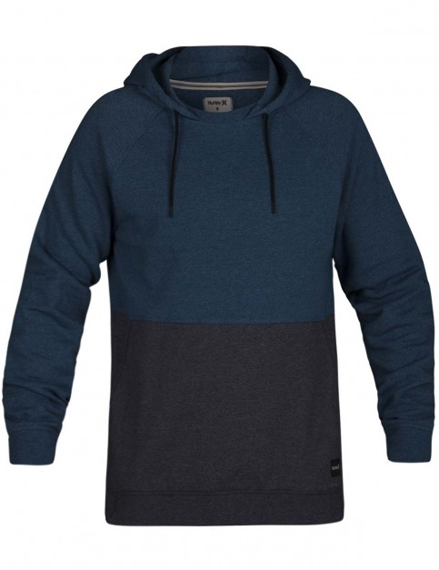 Hurley Crone Blocked Sweatshirt in Blue Force Heather