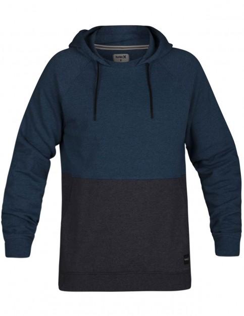 Hurley Crone Blocked Sweatshirt in Blue Force Heather