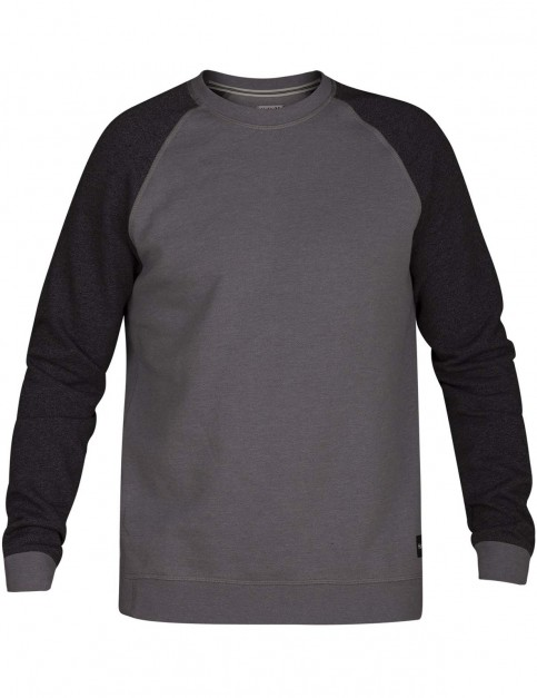 Hurley Crone Crew Sweatshirt in Grey Heather