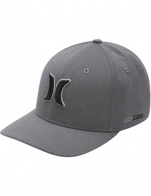 Hurley Dri-Fit Heather Cap in Cool Grey
