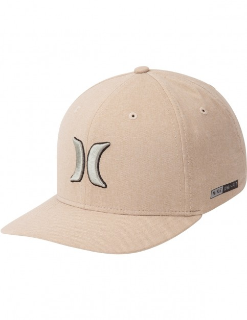 Hurley Dri Fit Heather Cap in Khaki