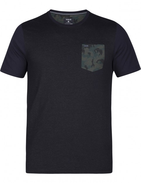 Hurley Dri-Fit Lagos Pocket Short Sleeve T-Shirt in Black