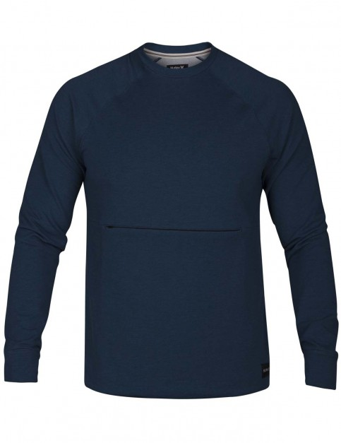 Hurley Dri-Fit Offshore Crew Sweatshirt in Blue Force
