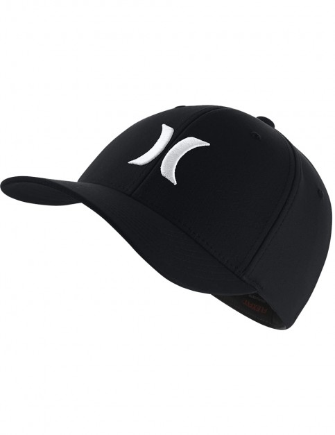 Hurley Dri-Fit One & Only 2.0 Cap in Black/White