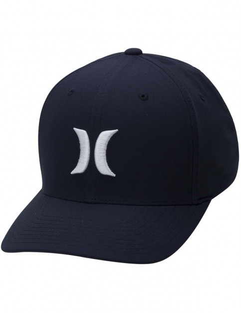 Hurley Dri-Fit One & Only 2.0 Cap in Obsidian / White