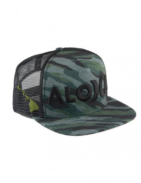 Camouflage Hurley Elite Flow Aloha Cap