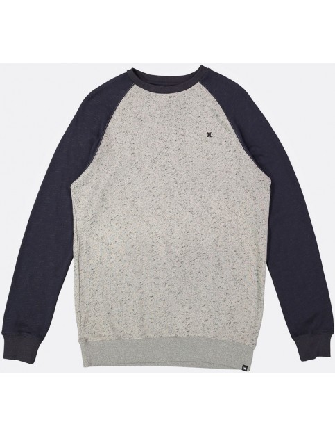 Hurley Evade Crew 3.0 Sweatshirt in Dark Grey Heather 2