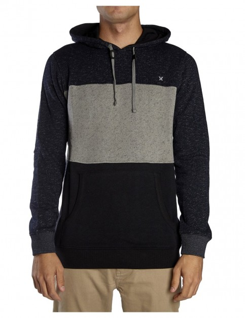 Hurley Evade District Pop Pullover Hoody in Black