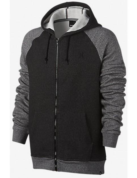 Hurley Getaway 2.0 Zipped Hoody in Black