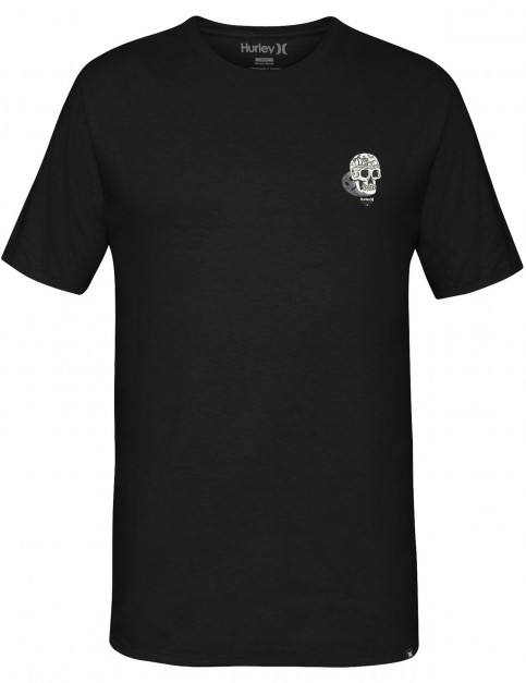 Hurley Happy Short Sleeve T-Shirt in Black