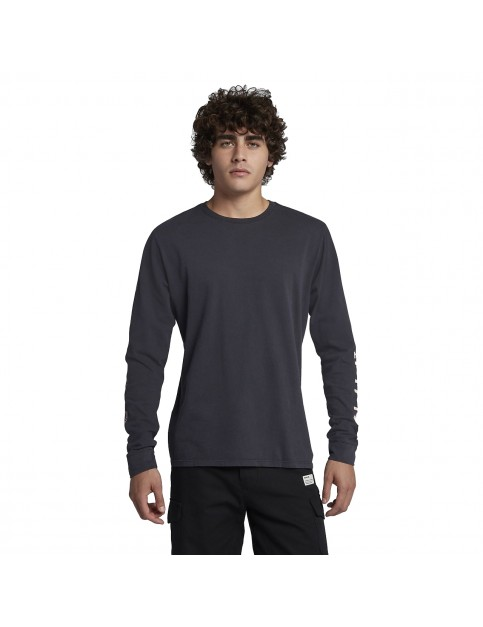 Hurley Heavy Cool Summer Long Sleeve T-Shirt in Anthracite