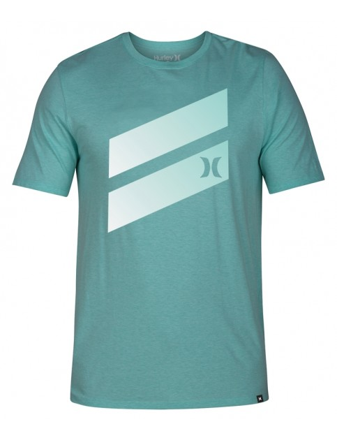 Hurley Icon Slash Gradient Short Sleeve T-Shirt in Tropic Twist Htr