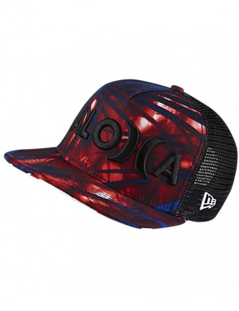 Bright Crimson Hurley JJF II Aloha Cap